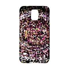 Mosaic Colorful Abstract Circular Samsung Galaxy S5 Hardshell Case  by Amaryn4rt