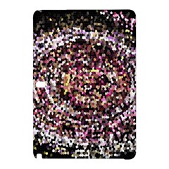 Mosaic Colorful Abstract Circular Samsung Galaxy Tab Pro 12 2 Hardshell Case by Amaryn4rt