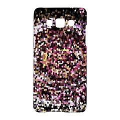 Mosaic Colorful Abstract Circular Samsung Galaxy A5 Hardshell Case  by Amaryn4rt
