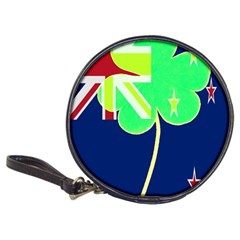 Irish Shamrock New Zealand Ireland Funny St Patrick Flag Classic 20 Cd Wallets
