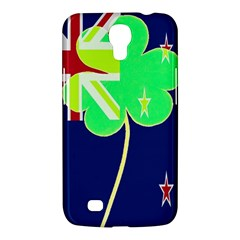 Irish Shamrock New Zealand Ireland Funny St Patrick Flag Samsung Galaxy Mega 6 3  I9200 Hardshell Case by yoursparklingshop