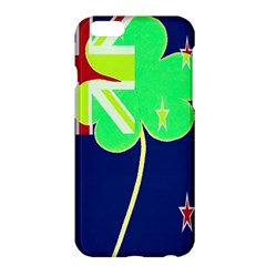 Irish Shamrock New Zealand Ireland Funny St Patrick Flag Apple Iphone 6 Plus/6s Plus Hardshell Case by yoursparklingshop