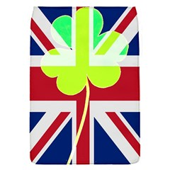 Irish British Shamrock United Kingdom Ireland Funny St  Patrick Flag Flap Covers (s)