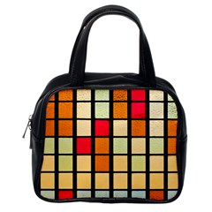 Mozaico Colors Glass Church Color Classic Handbags (one Side) by Amaryn4rt