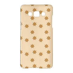 Pattern Gingerbread Star Samsung Galaxy A5 Hardshell Case  by Amaryn4rt