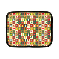 Pattern Christmas Patterns Netbook Case (small)  by Amaryn4rt