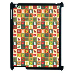 Pattern Christmas Patterns Apple Ipad 2 Case (black) by Amaryn4rt