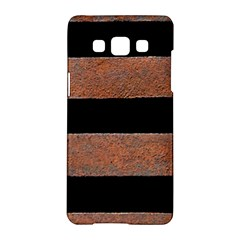 Stainless Rust Texture Background Samsung Galaxy A5 Hardshell Case  by Amaryn4rt