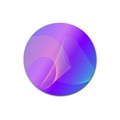 Vector Blend Screen Saver Colorful Magnet 3  (round) by Amaryn4rt