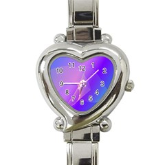 Vector Blend Screen Saver Colorful Heart Italian Charm Watch by Amaryn4rt