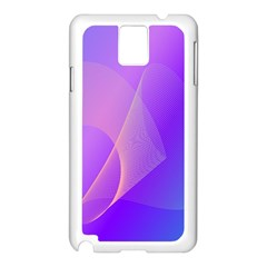 Vector Blend Screen Saver Colorful Samsung Galaxy Note 3 N9005 Case (white)
