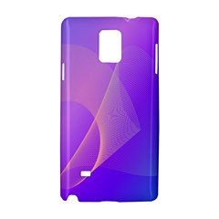 Vector Blend Screen Saver Colorful Samsung Galaxy Note 4 Hardshell Case