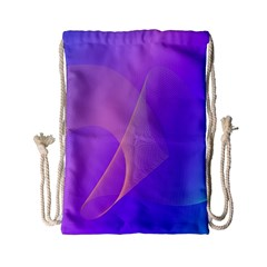 Vector Blend Screen Saver Colorful Drawstring Bag (small) by Amaryn4rt
