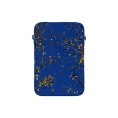 Poplar Foliage Yellow Sky Blue Apple Ipad Mini Protective Soft Cases by Amaryn4rt