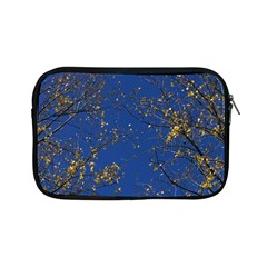 Poplar Foliage Yellow Sky Blue Apple Ipad Mini Zipper Cases by Amaryn4rt