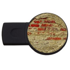 Wall Plaster Background Facade Usb Flash Drive Round (4 Gb)