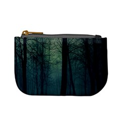 Dark Night Forest Mini Coin Purses by Brittlevirginclothing