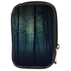 Dark Night Forest Compact Camera Cases by Brittlevirginclothing