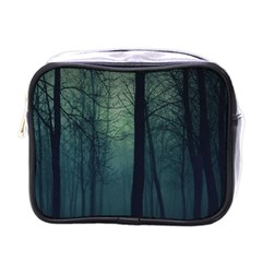 Dark Night Forest Mini Toiletries Bags by Brittlevirginclothing