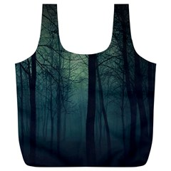 Dark Night Forest Full Print Recycle Bags (l)  by Brittlevirginclothing