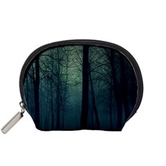 Dark Night Forest Accessory Pouches (small)  by Brittlevirginclothing
