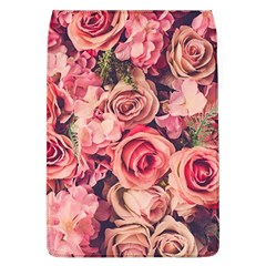 Beautiful Pink Roses Flap Covers (l)  by Brittlevirginclothing