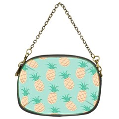 Cute Pineapple  Chain Purses (one Side)  by Brittlevirginclothing
