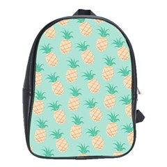 Cute Pineapple  School Bags (xl)  by Brittlevirginclothing