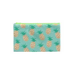 Cute Pineapple  Cosmetic Bag (xs) by Brittlevirginclothing