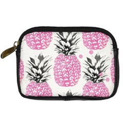 Lovely Pink Pineapple  Digital Camera Cases by Brittlevirginclothing
