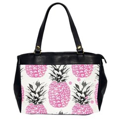 Lovely Pink Pineapple  Office Handbags (2 Sides)  by Brittlevirginclothing