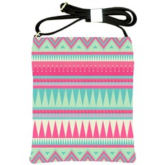 Gorgeous Colorful Pink Bohemian  Shoulder Sling Bags