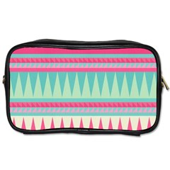 Gorgeous Colorful Pink Bohemian  Toiletries Bags by Brittlevirginclothing