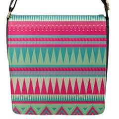 Gorgeous Colorful Pink Bohemian  Flap Messenger Bag (s) by Brittlevirginclothing