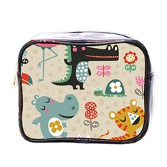 Lovely Cartoon Animals Mini Toiletries Bags by Brittlevirginclothing