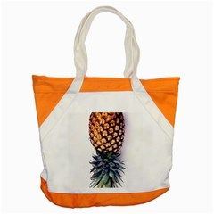 La Pina Pineapple Accent Tote Bag by Brittlevirginclothing