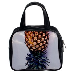 La Pina Pineapple Classic Handbags (2 Sides) by Brittlevirginclothing