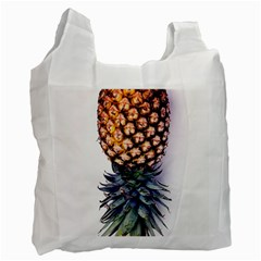 La Pina Pineapple Recycle Bag (two Side)  by Brittlevirginclothing