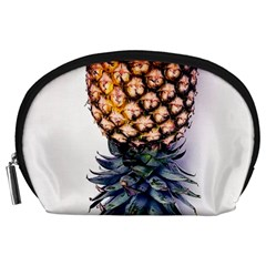 La Pina Pineapple Accessory Pouches (large)  by Brittlevirginclothing