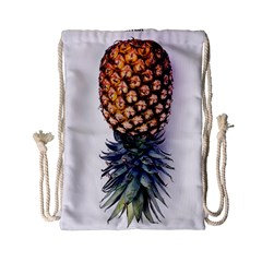 La Pina Pineapple Drawstring Bag (small) by Brittlevirginclothing