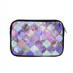 Blue Toned Moroccan Mosaic  Apple Macbook Pro 15  Zipper Case by Brittlevirginclothing