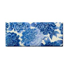 Blue Toned Flowers Cosmetic Storage Cases by Brittlevirginclothing