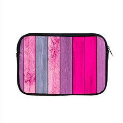 Pink Colored Wood Apple Macbook Pro 15  Zipper Case by Brittlevirginclothing