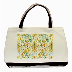 Cute Small Colorful Flower  Basic Tote Bag (two Sides) by Brittlevirginclothing