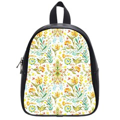 Cute Small Colorful Flower  School Bags (small)  by Brittlevirginclothing