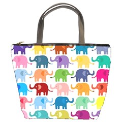 Lovely Colorful Mini Elephant Bucket Bags by Brittlevirginclothing