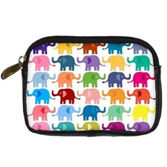 Lovely Colorful Mini Elephant Digital Camera Cases by Brittlevirginclothing
