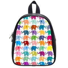 Lovely Colorful Mini Elephant School Bags (small)  by Brittlevirginclothing
