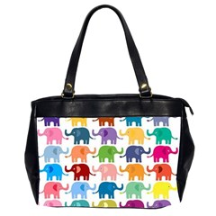 Lovely Colorful Mini Elephant Office Handbags (2 Sides)  by Brittlevirginclothing