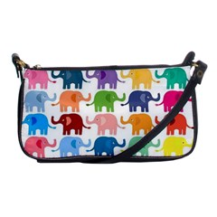 Lovely Colorful Mini Elephant Shoulder Clutch Bags by Brittlevirginclothing